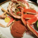 つるや - 料理写真:タグ付きセイコガニ5,400円