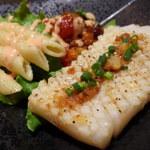Hawaiian Diner Kihei - カラマリステーキ、柔らかいイカのステーキです