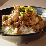 Hawaiian Diner Kihei - 生姜焼き丼、しょうがたっぷり