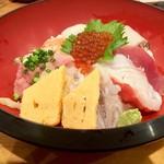日向丸 - のっけ丼800円