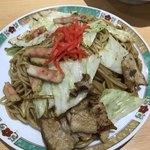 新京亭 - 焼きソバ