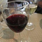 パスタ・エ・カフェ・シオサイ - ランチセットのグラスワイン
