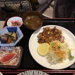 泉坂 - 奥美濃古地鶏定食