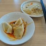 栄児 家庭料理 - 水餃子のサービス