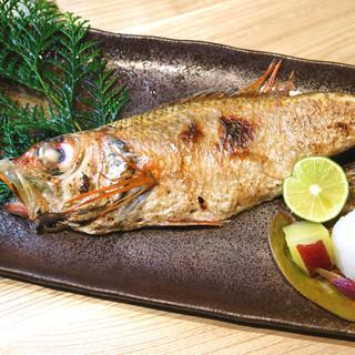 産地直送の天然魚