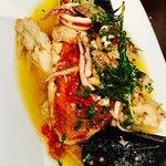 バル SORA - 絶対食べたかったアクアパッツァ‼️ 好き過ぎ!うま過ぎ! コレ必食ー‼️ 本日のお魚は金目鯛です⭐︎