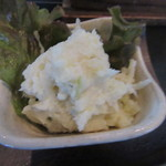 手打ち蕎麦と酒 佳蕎庵 - 「ポテトサラダ」