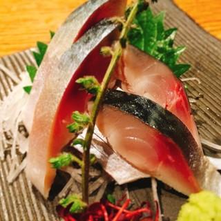 11月後半のお勧めメニュー長崎県産「長崎ハーブさばのお造り」