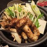 舞桜 - 松茸と牛肉のすき焼き