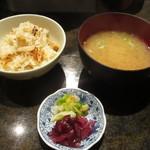 舞桜 - 松茸ご飯など