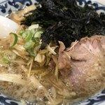 がんこや - 葱のりラーメン(¥900)