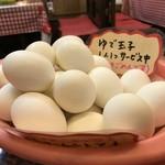 こふじ - お一人様1個サービスのゆで卵(2017.11.14)