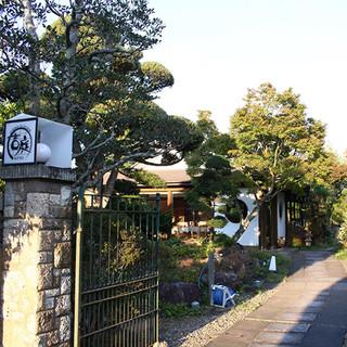 水郷の町・佐原にて、800坪の日本庭園と四季の創作料理...