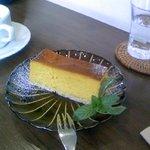パティスリーカフェ ポッシュ - カボチャチーズケーキ