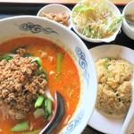 上海飯店 - タンタンメンセット