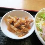 上海飯店 - 漬け物