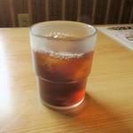 上海飯店 - サービスの烏龍茶