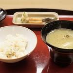 赤坂 菊乃井 - ■鯛ご飯
