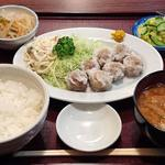 香雅 - 中華料理 香雅 @ときわ台 シューマイ定食 税込600円 ご飯少な目でお願い