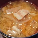 香雅 - 中華料理 香雅 @ときわ台 シューマイ定食に付く豚肉・根菜たっぷりんこの豚汁