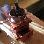 煎豆茶館 杣 - 小さな引き出しを開けると良い香り♡たまりません!