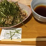 ガレットスタンド - 肉つけ蕎麦大(450g)830円
