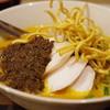 シャム - 料理写真:タイカレーラーメン(カオソーイ)、ダブル