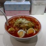 蒙古タンメン中本 - 北極やさいラーメン(辛さ2倍、麺固め)
