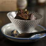japanesewhisky&spirits Bar 蕾 - 自家製のジャパニーズウイスキー入り生チョコ