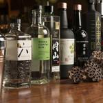 japanesewhisky&spirits Bar 蕾 - ジャパニーズジン色々