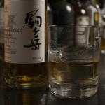 japanesewhisky&spirits Bar 蕾 - 駒ヶ岳シングルモルト竜胆