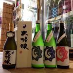 やき鳥枡家 - 基峰鶴のお酒