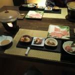 ますとみ旅館 - 夕食1
