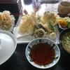 川治 - 料理写真:天ぷら定食エビ多め