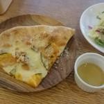 ニホンバシ・ブルワリー - セットの4分の一ピザ