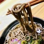 南海そば - 蕎麦…少し柔らかいね〜〜