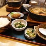 丸岡うどん - 料理写真:味噌煮込み定食