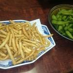讃岐茶屋 - ポテト、枝豆