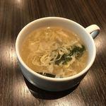 76432265 - スープもしっかりと美味しい!
