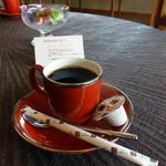 和心亭 豊月 - ラウンジで食後のコーヒー