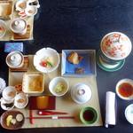 和心亭 豊月 - 朝食
