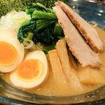 人形町 麺や わたる 亀戸天神店 - わたるらーめん 950円