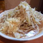 豚星。 - 料理写真:小ラーメン・ニンニク(750円)