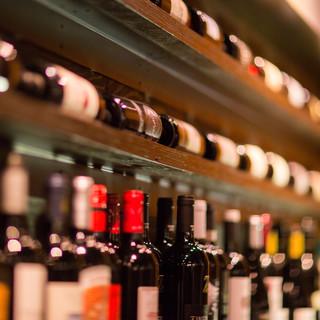 池袋屈指のワイン在庫本数♬ビオワインも充実‼︎