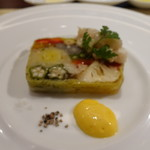 ビストロ ダイア - 彩り野菜のテリーヌ