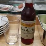 串揚げ いやさか - 〆は、赤ワイン