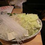 ごま屋ちゅう兵衛 - しゃぶしゃぶ野菜 2017.10.29