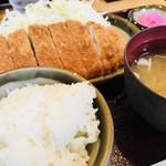 とんかつ はららき - ロースカツ定食 税込980円