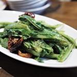 豊栄 - A菜の炒め(海老味噌味)