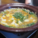 豊栄 - 上海蟹味噌と豆腐の煮込み
